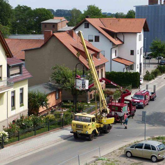 Sanierung Wasserstraße Bad-Freienwalde (Oder)